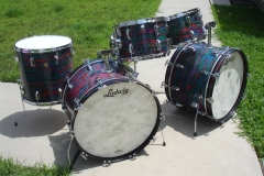 Ludwig Psychedelic Red after