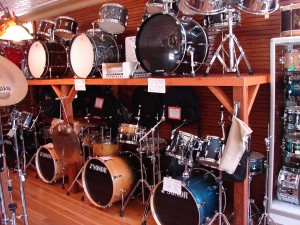 Drum-sets-Wall