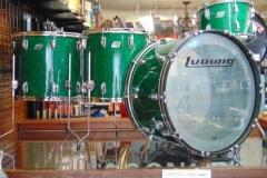 Ludwig Green Sparkle Vistalite