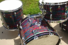 Vintage Ludwig Psychedelic Red